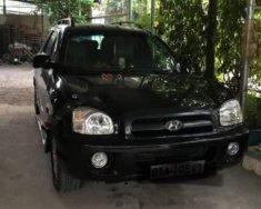 Bán Hyundai Santa Fe đời 2002, số tự động, máy dầu, xe nhập khẩu, màu đen, đã đi 187000 km giá 220 triệu tại Bình Dương