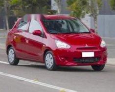 Cần bán gấp Mitsubishi Mirage đời 2013, màu đỏ, chính chủ giá 360 triệu tại Tp.HCM