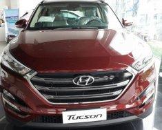 Bán xe Hyundai Tucson 2.0L sản xuất năm 2018, màu đỏ giá 860 triệu tại Tp.HCM