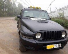 Gia đình bán Ssangyong Korando năm 2003, màu đen, nhập khẩu giá 150 triệu tại Hà Nội