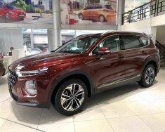 Cần bán Hyundai Santa Fe năm sản xuất 2019, màu đỏ giá 995 triệu tại Tp.HCM