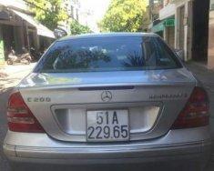 Cần bán gấp Mercedes C200 2004, màu bạc, xe đẹp, gầm máy chất giá 160 triệu tại Đắk Lắk