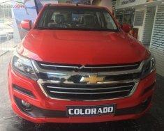 Bán ô tô Chevrolet Colorado 2.5L 4x4 MT LT sản xuất 2019, màu đỏ, nhập khẩu giá 639 triệu tại Tp.HCM