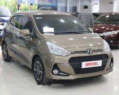 Bán ô tô Hyundai Grand i10 1.2MT sản xuất năm 2018, màu nâu, xe nguyên bản, tình trạng hoàn hảo giá 387 triệu tại Hà Nội