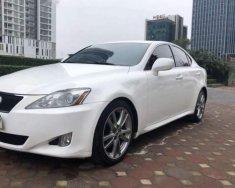 Bán Lexus IS 250 năm sản xuất 2007, màu trắng, nhập khẩu nguyên chiếc như mới giá 725 triệu tại Đồng Tháp