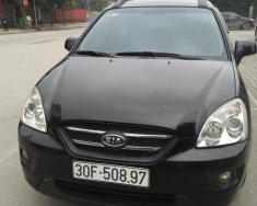 Bán xe Kia Carens bản đủ 2008, màu đen, nhập khẩu nguyên chiếc máy dầu, số tự động giá 368 triệu tại Hà Nội