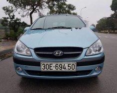 Gia đình cần bán Hyundai Getz nhập khẩu màu xanh da trời, xe còn zin đến 90% giá 222 triệu tại Hà Nội
