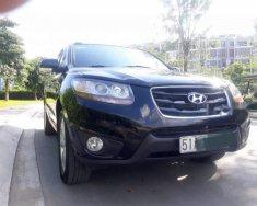 Bán Hyundai Santa Fe năm 2011, màu đen, xe nhập, giá chỉ 680 triệu giá 680 triệu tại Tp.HCM