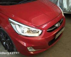 Bán ô tô Hyundai Accent sản xuất năm 2015, màu đỏ, giá tốt giá 450 triệu tại Tp.HCM
