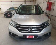 Bán xe Honda CR-V 2.0 đời 2013, màu bạc số tự động. Xe đi 45.000 km giá thương lượng khi khách xem xe giá 770 triệu tại Tp.HCM