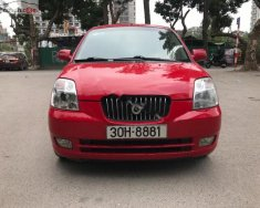 Bán ô tô Kia Morning Slx sản xuất năm 2006, màu đỏ, nhập khẩu còn mới giá 188 triệu tại Hà Nội