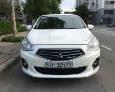 Bán ô tô Mitsubishi Attrage đời 2015, màu trắng, nhập khẩu nguyên chiếc, giá tốt giá 330 triệu tại Tp.HCM