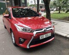 Cần bán xe Toyota Yaris G năm 2016, màu đỏ, nhập khẩu xe gia đình giá 570 triệu tại Hà Nội