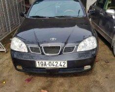 Cần bán lại xe Daewoo Lacetti sản xuất năm 2006, màu đen, 145tr giá 145 triệu tại Hà Nội