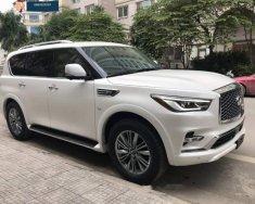 Bán ô tô Infiniti QX80 sản xuất 2018, màu trắng, nhập khẩu nguyên chiếc giá 7 tỷ 350 tr tại Hà Nội
