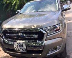 Bán xe ford Ranger XLT đời 2017, màu vàng cát giá 650 triệu tại Hà Nội