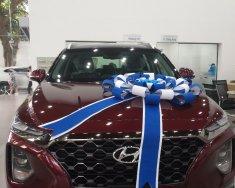 Bán Hyundai Santa Fe năm 2019, màu đỏ, máy xăng số tự động giá 1 tỷ 250 tr tại Tp.HCM