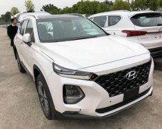 Cần bán xe Hyundai Santa Fe năm sản xuất 2018, màu trắng giá 1 tỷ 195 tr tại Tp.HCM