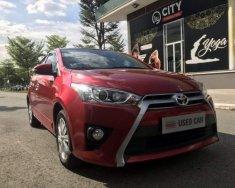 Bán Toyota Yaris G 7/2017, màu đỏ, mới chạy lướt ít hơn 6.000km giá 650 triệu tại Bình Dương