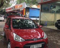 Bán ô tô Hyundai Grand i10 1.25 AT sản xuất năm 2016, màu đỏ, xe nhập giá 412 triệu tại Hà Nội