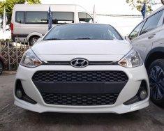 Hyundai Grand i10 5 cửa, số sàn, full option, màu trắng, giao ngay lấy xe về đi tết giá 375 triệu tại Tp.HCM