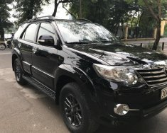 Bán Fortuner V sản xuất 2015, số tự động 1 cầu, màu đen, tư nhân chỉnh chủ mua từ mới, xe đã chạy chuẩn 4 vạn km giá 795 triệu tại Hà Nội