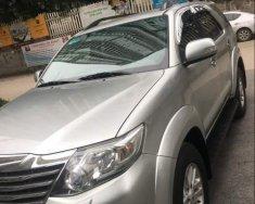 Cần bán Toyota Fortuner đời 2013, màu bạc chính chủ giá 695 triệu tại Hà Nội