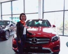 Cần bán Mercedes GLC 200 năm 2018, màu đỏ giá 1 tỷ 699 tr tại Hà Nội