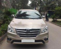 Chính chủ tôi cần bán chiếc Toyota Innova 2.0E số sàn màu vàng cát, chính chủ tên tôi LH 0986860295 giá 529 triệu tại Hà Nội