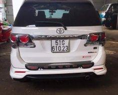 Cần bán xe Toyota Fortuner TRD 4x4 sản xuất năm 2016, màu trắng, giá 900tr giá 900 triệu tại Tp.HCM