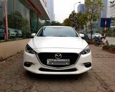 Bán xe Mazda 3 Facelift đời 2017, màu trắng như mới giá 666 triệu tại Hà Nội
