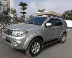 Cần bán Toyota Fortuner 2.7V 4x4AT sản xuất 2010, màu bạc   giá 490 triệu tại Hà Nội