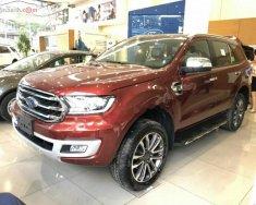 Bán ô tô Ford Everest Titanium 2.0L 4x4 AT 2019, màu đỏ, xe nhập giá 1 tỷ 399 tr tại Hà Nội