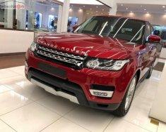 Bán xe LandRover Range Rover Sport HSE 2018, màu đỏ, nhập khẩu nguyên chiếc giá 5 tỷ 209 tr tại Hà Nội