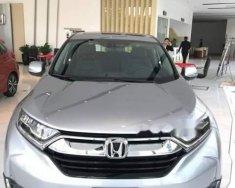 Bán Honda CR V sản xuất 2018, màu bạc, nhập từ Thái giá 1 tỷ 93 tr tại Tp.HCM