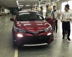 Bán xe Toyota Yaris 1.5G CVT 2018, màu đỏ, nhập khẩu giá 650 triệu tại Hà Nội