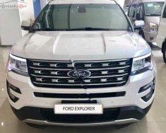 Cần bán xe Ford Explorer Limited 2.3L EcoBoost đời 2018, màu trắng, xe nhập giá 2 tỷ 193 tr tại Tp.HCM