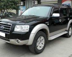 Cần bán gấp Ford Everest sản xuất 2008, màu đen, nhập khẩu nguyên chiếc giá 330 triệu tại Trà Vinh