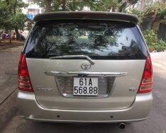 Cần bán Toyota Innova G sản xuất năm 2006, màu ghi vàng  giá 325 triệu tại Tp.HCM