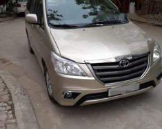 Bán Toyota Innova E đời 2014, màu vàng cát, còn mới giá 520 triệu tại Hà Nội