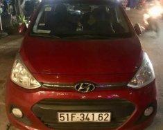 Bán xe Hyundai Grand i10 năm sản xuất 2015, màu đỏ, xe nhập, đăng ký 13/10/2015 giá 320 triệu tại Tp.HCM