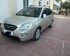 Gia đình bán gấp Kia Carens LX 1.6 MT năm 2010, màu vàng giá 300 triệu tại Nghệ An