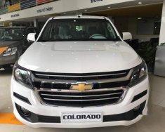 Cần bán gấp Chevrolet Colorado đời 2018, màu trắng, nhập khẩu nguyên chiếc giá 651 triệu tại Tp.HCM