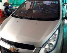 Cần bán lại xe Chevrolet Spark đời 2015, màu bạc giá 28 triệu tại Gia Lai