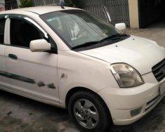 Bán Kia Morning LX màu trắng, đời 2005, đăng ký lần đầu 2007, số tự động, máy xăng giá 175 triệu tại Hà Nội