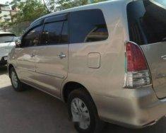Cần bán gấp Toyota Innova đời 2012, màu vàng, giá 438tr giá 438 triệu tại Hà Nội