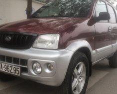 Chính chủ bán Daihatsu Terios 1.3 MT đời 2003, màu đỏ giá 160 triệu tại Hà Nội