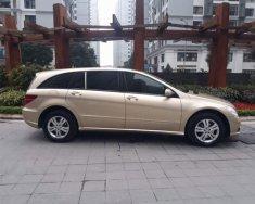 Cần bán gấp Mercedes R350 năm sản xuất 2008, màu vàng, nhập khẩu nguyên chiếc giá 568 triệu tại Hà Nội