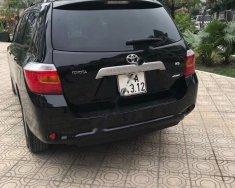 Bán xe Toyota Highlander Limited 3.5 AWD đời 2008, màu đen, nhập khẩu, số tự động giá 700 triệu tại Hà Nội