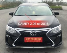 Cần bán Toyota Camry 2.0E đời 2016, màu đen giá 933 triệu tại Hà Nội